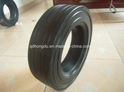 Factory Directly Sale Trolley Solid Rubber Wheel 4.00-8