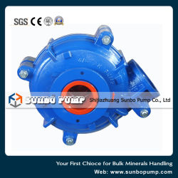 Gold Mining Waste Water Treatment Slurry Pump 100hs
