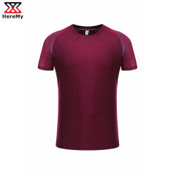 European American Quick Dry Men Outdoor Sports Casual Running Shirt
