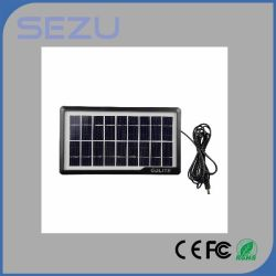 Solar Home Lighting Equipment, with 3PCS LED Bulbs, 10-in-One Cable