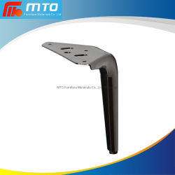 Hot Sale Chrome Plated New Design European Style Iron Metal Furniture Leg Light Balck Finishing Metal Sofa Leg