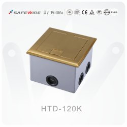 Brass Alloy Material Electrical Socket Foor Boxes
