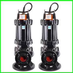 High Head Sewage Slurry Pumps Vertical Single-Stage Submersible Sewage Pump