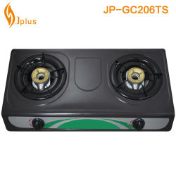 Wholesale Price Stainless Steel Double Gas Cooker Jp-Gc206
