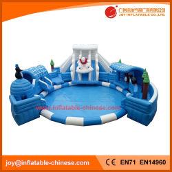 Inflatable Bouncy Toy/Giant Inflatable Polar Bear Amusement Park (T13-015)