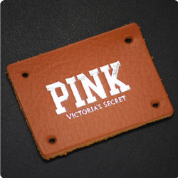 Low Price Wholesale Printed Leather Patches for Jeans