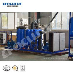 High Performed Industrial Slurry Ice Machine 10 Tons for Fishery Industry