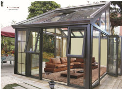 Customized Style Double Laminate Glass Aluminum Sunroom for Garden and Balcony