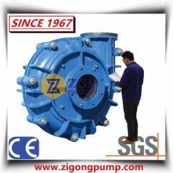 Horizontal Heavy Duty Abrasion Resistant Mineral Processing Centrifugal Ah High Chrome Slurry Pump, Anti-Abrasive Wear Resistant Industrial Chemical Mining Pump