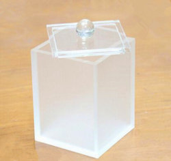 Wholesale Acrylic Box for Cotton Swabs