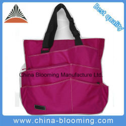Polyester Outdoor Sports Shoulder Tennis Racket Tote Bag