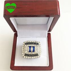 Wholesale 2015 Duke Blue Devils University Zinc Alloy Silver Plated Fashion Custom Sports Replica Fans World Championship Ring