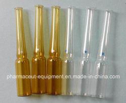 4 Head Glass Ampoule Cometic Liquid Filling and Heat Sealing Machine (Peristaltic pump)