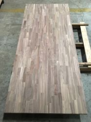 American Walnut Finger Joint Board for Furniture (Vertical)