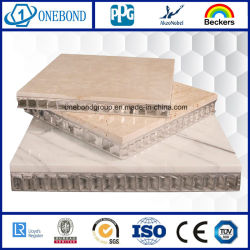Glass Laminated Stone Honeycomb Panel for Wall Cladding