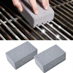 Grill Griddle Cleaning Brick Block, Ecological Grill Cleaning Brick, De-Scaling Cleaning Stone for Removing Stains BBQ Cleaning