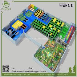 European Standard Large Indoor Amusement Park, Wholesale Trampoline Park Price