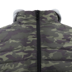 Cold Winter Wholesale Price Soft Shell Tactical Waterproof Ultra Light Down Camo Puffer Hunting Custom Sublimation Camouflage Jacket for Men Sport Printing Hood