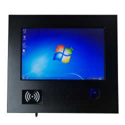 12 Inch IPS Tablet PC All in One Touch Screen Industrial RFID Finger Printer Panel PC for Smart Ark