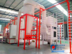 Sport Equipment Powder Coating Line Factory