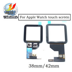 Alangduo Black Front Glass Touch Screen Digitizer Replacement for Apple Watch 42mm / 38mm Sport / Sapphire Version