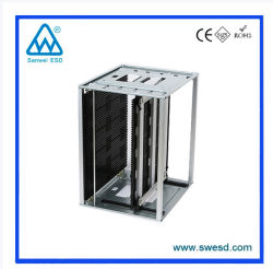 Anti Static High Quality Adjustable ESD Magazine Rack for SMT Storage Holder PCB