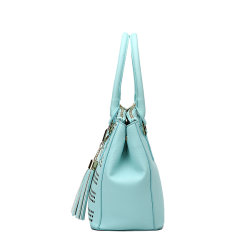 Hollow-out Double-Layer 3-Zipper Compartment Versatile Fashion Handbag (MBNO039039)