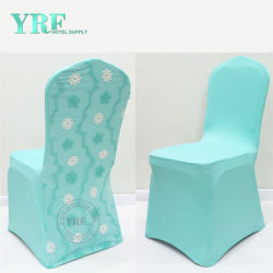 Guangzhou Foshan Cheap Stretch Universal Chair Seat Covers Christmas Dining Room Cover For Yrf