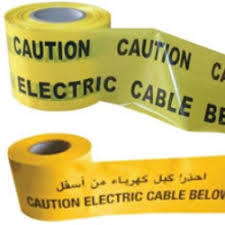 yellow 4 x 50 Metre ROLL BARRIER SAFETY WARNING TAPE NON-ADHESIVE rolls red