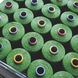 100% New Artificial Grass PP/PE Yarn for Landscaping and Football or Soccer Sports Pitch Turf Factory