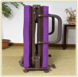 Roll Away Guest Portable Sleeper Cot Purple 190*120cm