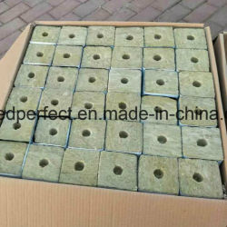 80kg/M3 Wholesale Gardon Rockwool Cubes