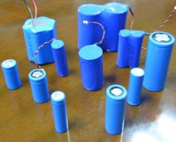 Rechargeable 3.7V Lithium Battery for E Cigarette (18650)