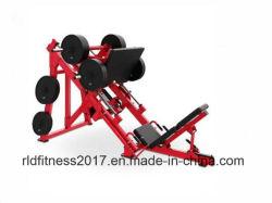 Plate Loaded Hammer Strength Linear Leg Press. Fitness Gym Club Equipment
