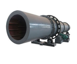 Small Single Drum Rotary Dryer for Coal Slurry/Limestone/Mineral Concentrate