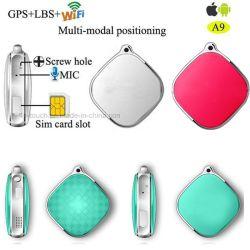 Micro SIM Card Mini GPS Tracker for Person/Cat/Pet (A9)