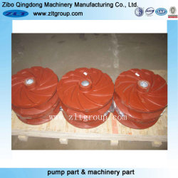 High Chrome Material Slurry Pump Impeller Made by Sand Casting