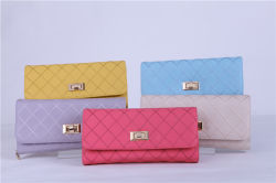 Trendy Designer Embroidered Plain PU Wallet for Women