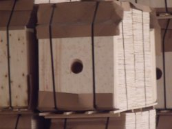 Hole Plywood Paper Roller Packing