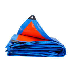 Orange Plastic Waterproof Plastic Roofing Cover Tarpaulin with Satisfactory Price