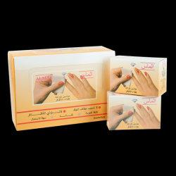 Alcohol Free Private Labelling Nail Polish Remover Pad
