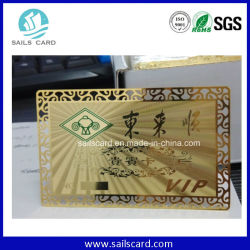 Factory Directly Wholesale Cut out Cheap Metal Business Card