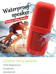 Bicycle Multi Function Outdoor Waterproof Sports Portable Outdoor Riding Wireless Plastic Speaker Boxes