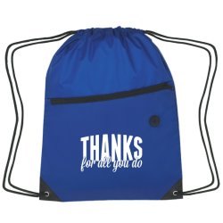 Durable Cheap Sport Shopping Bag Polyester Drawstring Bag Polypropylene