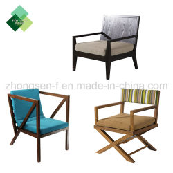 Malaysia Teak Wooden Cushion Leisure Outdoor Chair Furniture China Manufacturers For Garden Hotel Patio Beach Lounge