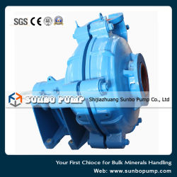 Made in China High Efficiency Rubber Impeller Centrifugal Slurry Pump
