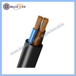 Rubber Cable Cover Insulated Flexible Cable H07rn-F Electric 3G 1.5mm2 2.5mm2 VDE Power Cable H05rr-F H05rn-F Coiled Cable