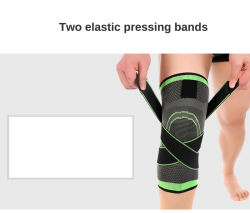 97198748a6 Tape 1 PCS 3D Pressurized Fitness Running Cycling Knee Support Braces  Elastic Nylon Sport Compression Pad