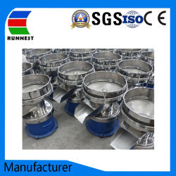 High Frequency Round Vibrating Screen Machine Used for Slurry Ceramic