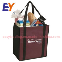Nw8001 Promotional Polypropylene Cut Laminated Tnt Tote Pp Non Woven Ping Bag